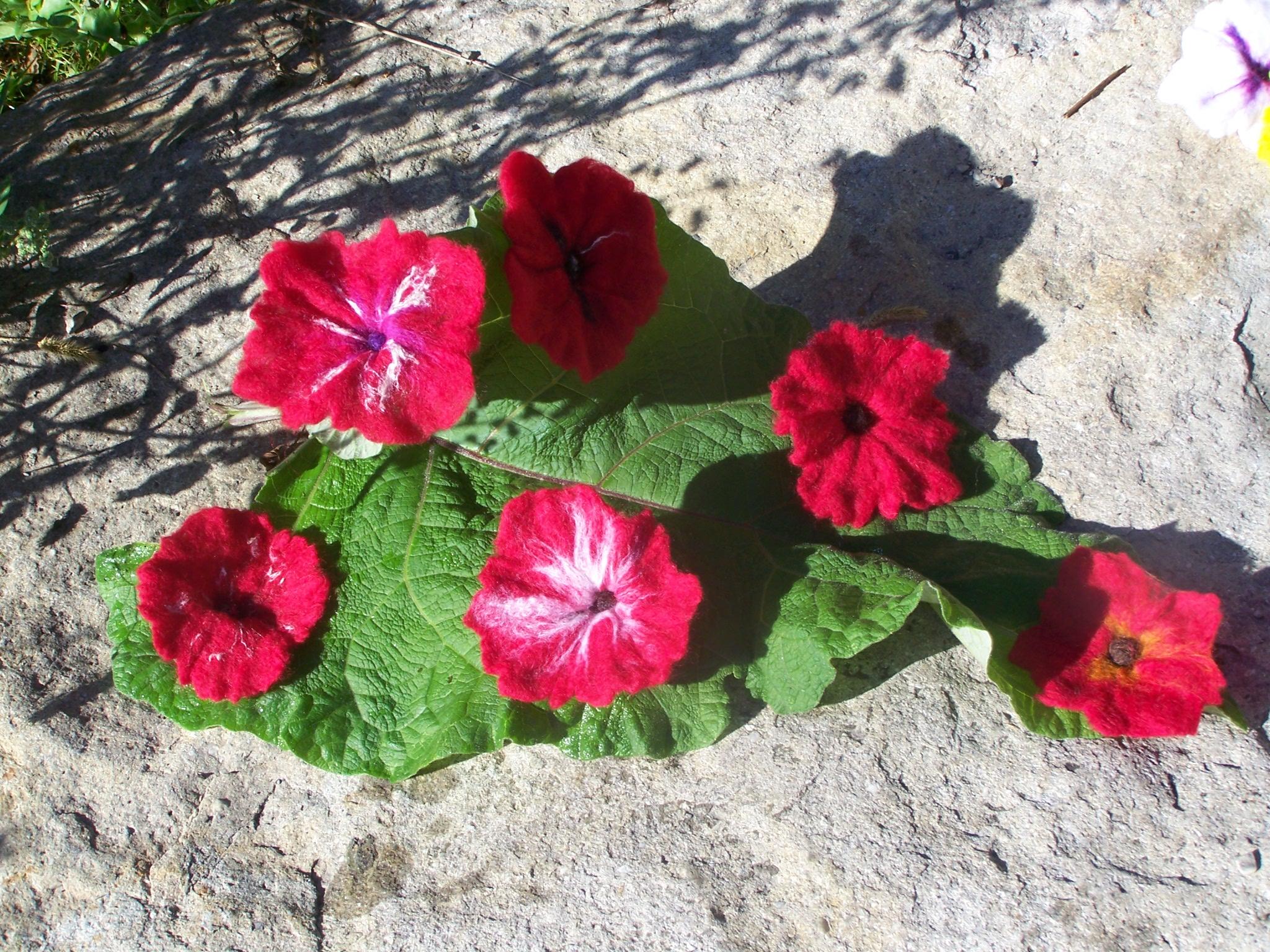 Broches fleur